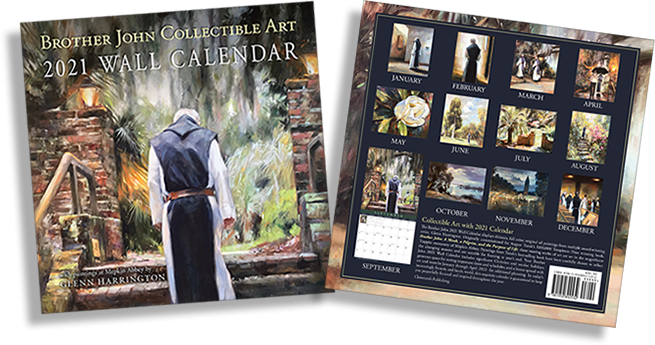 Order Now! Brother John Collectible Art Calendar