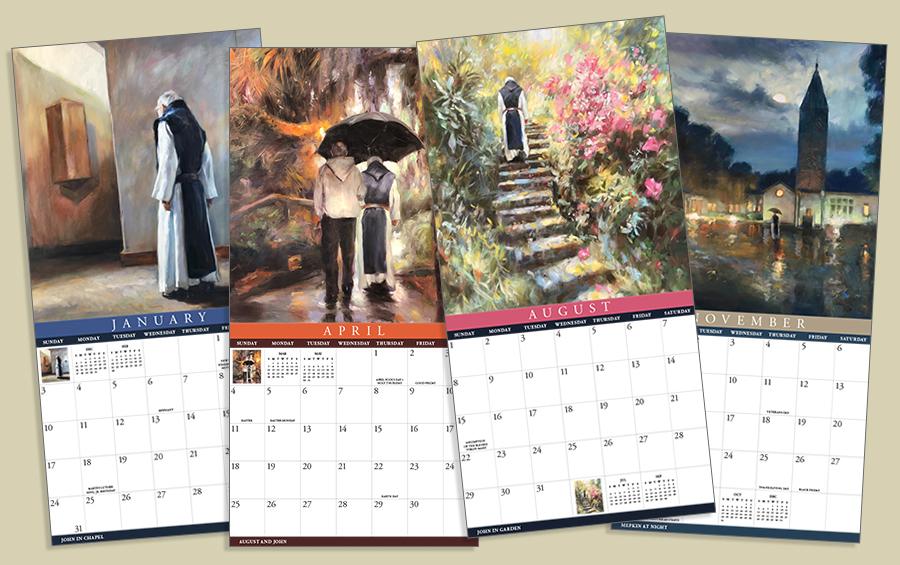 Brother John Collectible Art Calendar
