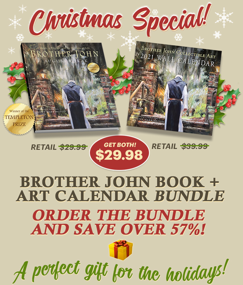 Order Now! Brother John Book and Calendar Bundle
